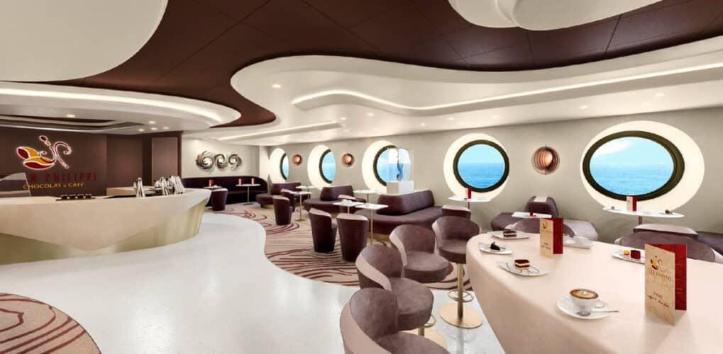 MSC World Europa, Jean-Philippe Chocolat & Cafa