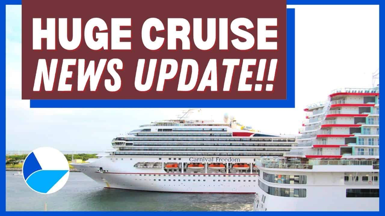 Huge Cruise News Update