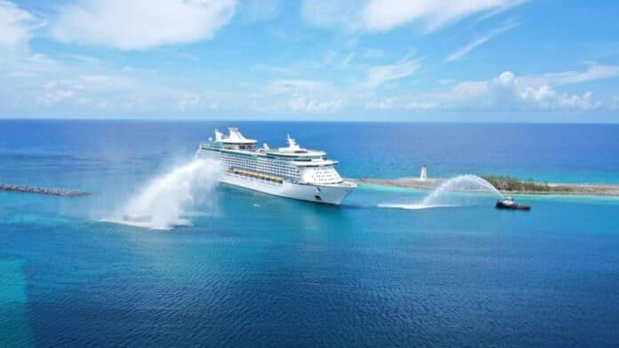 Adventure of the Seas Arrives in Nassau