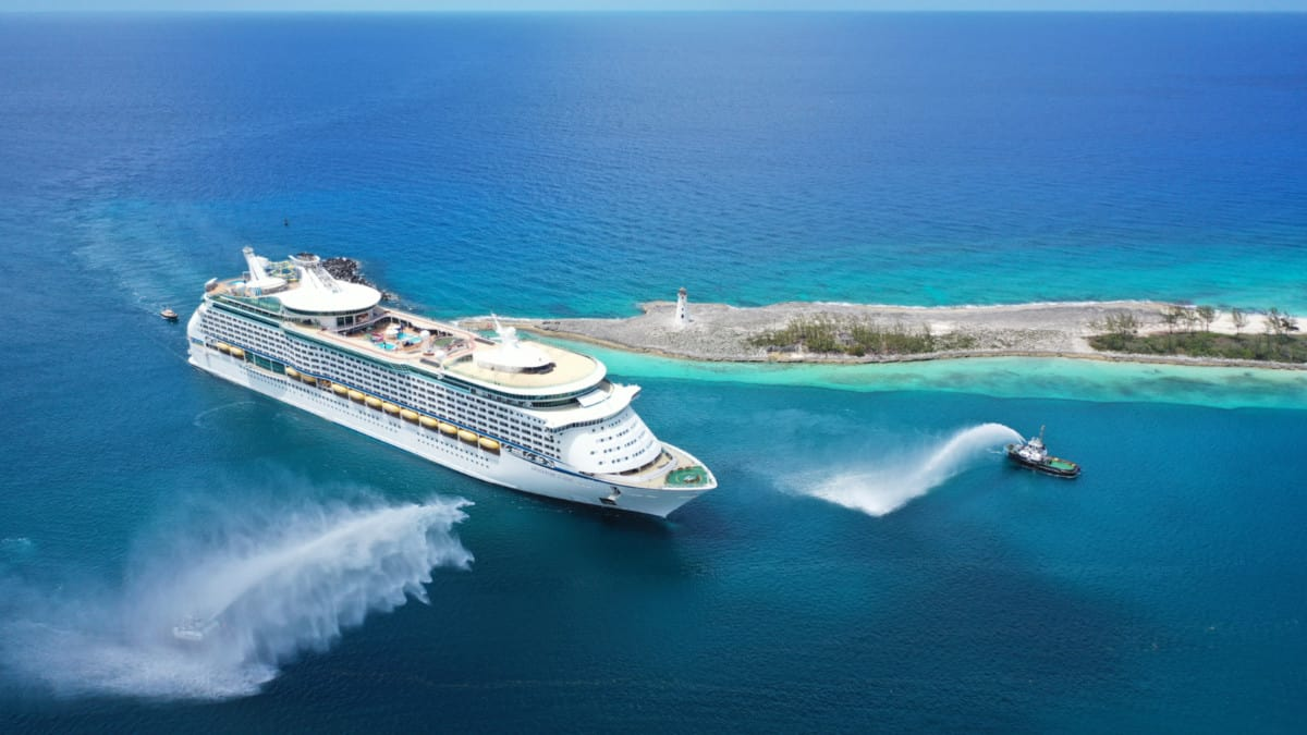 Adventure of the Seas Arrival in Nassau
