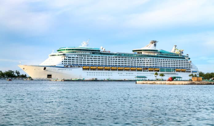 Adventure of the Seas in the Bahamas