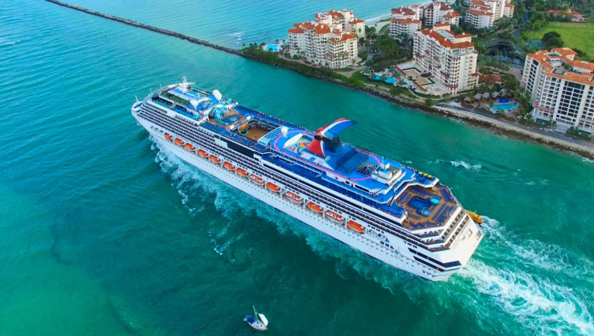 Carnival Cruise Ship in Florida