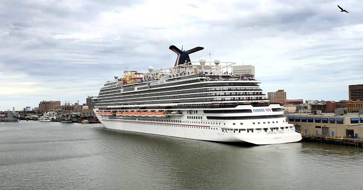 Carnival Vista in Galveston