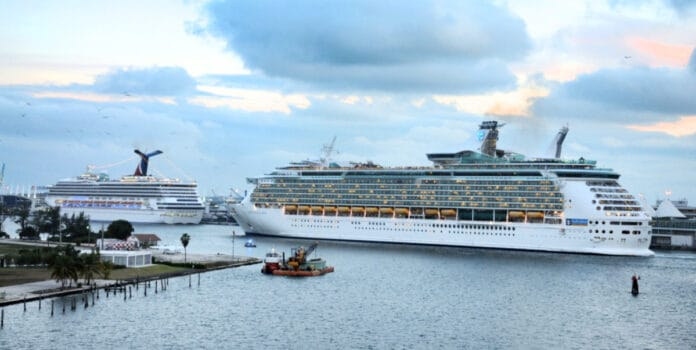 Cruise Ships Docked in Miami