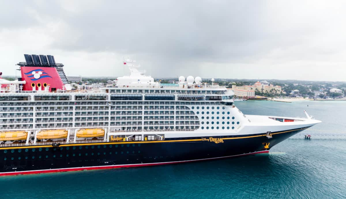 Disney Dream in port Canaveral Florida