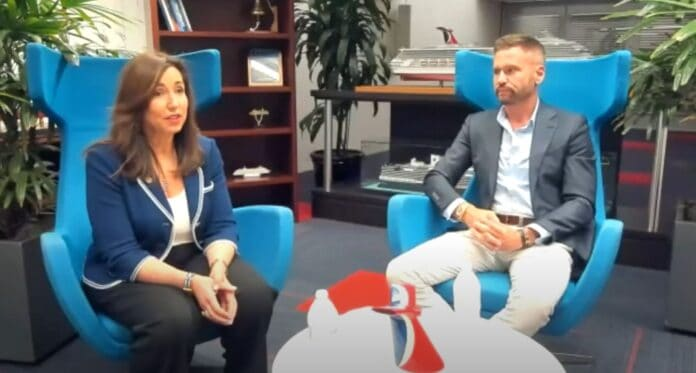 Carnival Cruise Line President Discussion