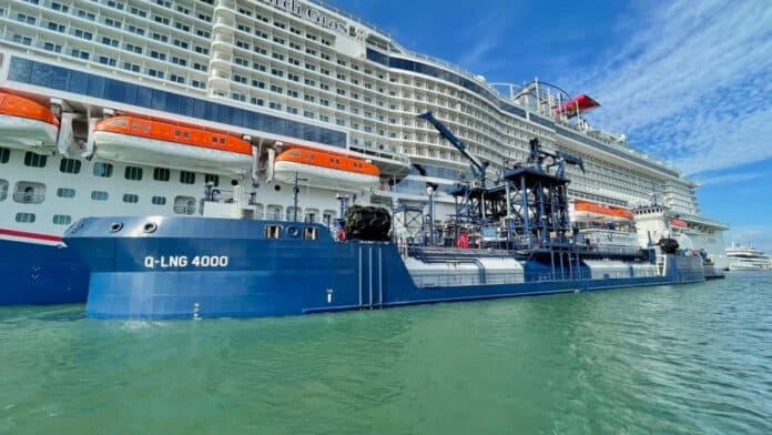 Carnival Mardi Gras LNG Cruise Ship