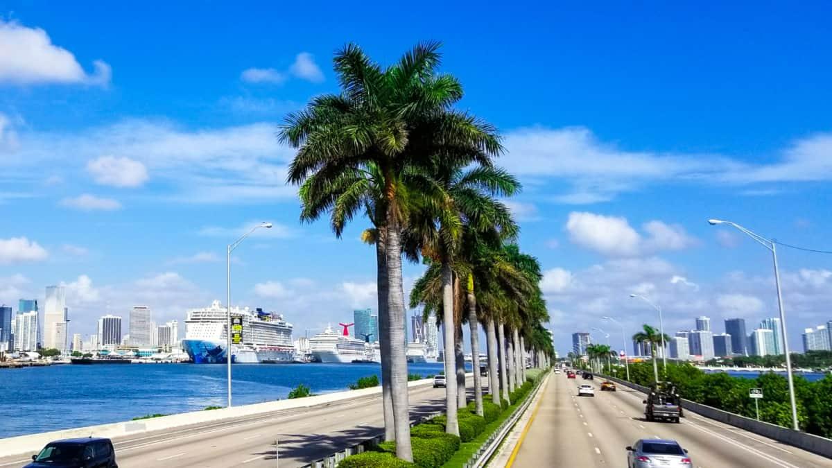 Cruise Ships in Miami Florida