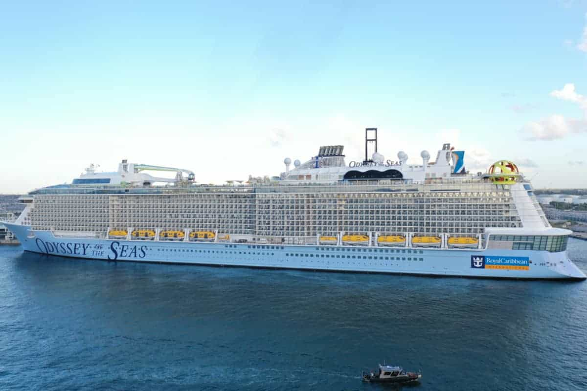 Odyssey of the Seas in Fort Lauderdale