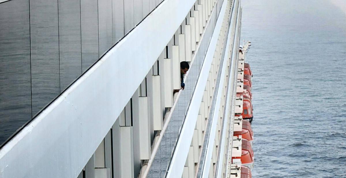 Carnival Cruise Ship Port Side