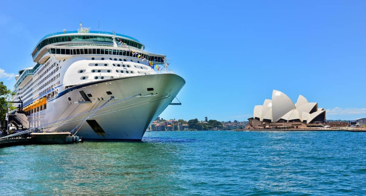Cruise Ship in Sydney, Australia
