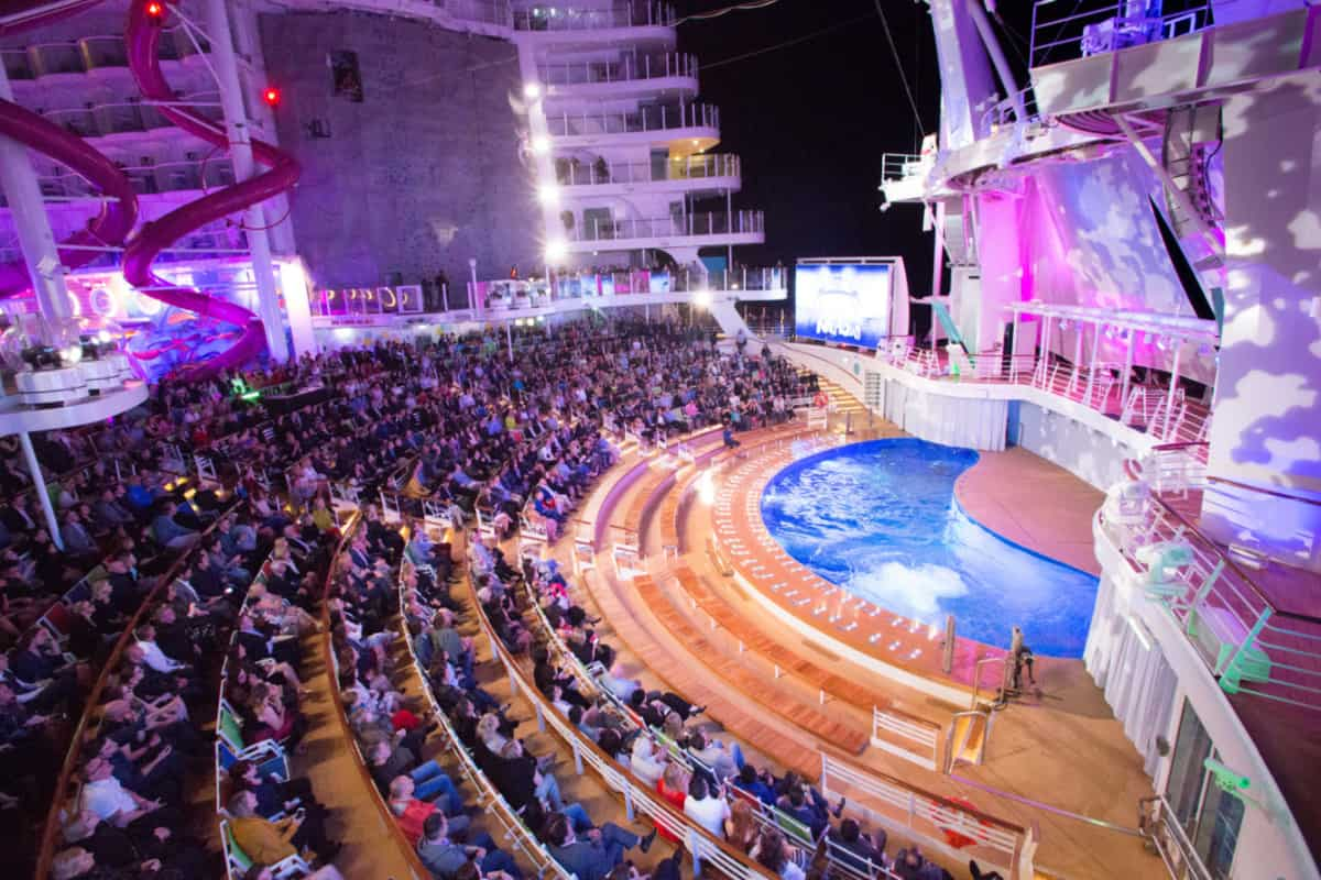 Symphony of the Seas Aqua Theater
