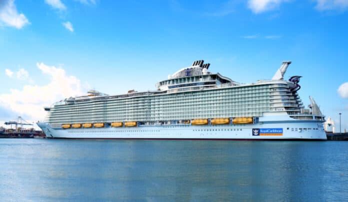 Symphony of the Seas in Miami, Florida