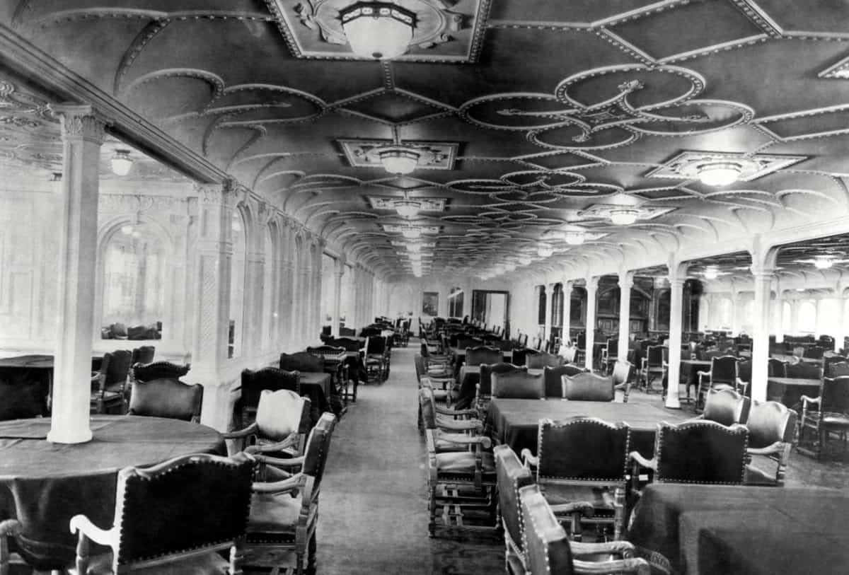 Titanic Dining Room