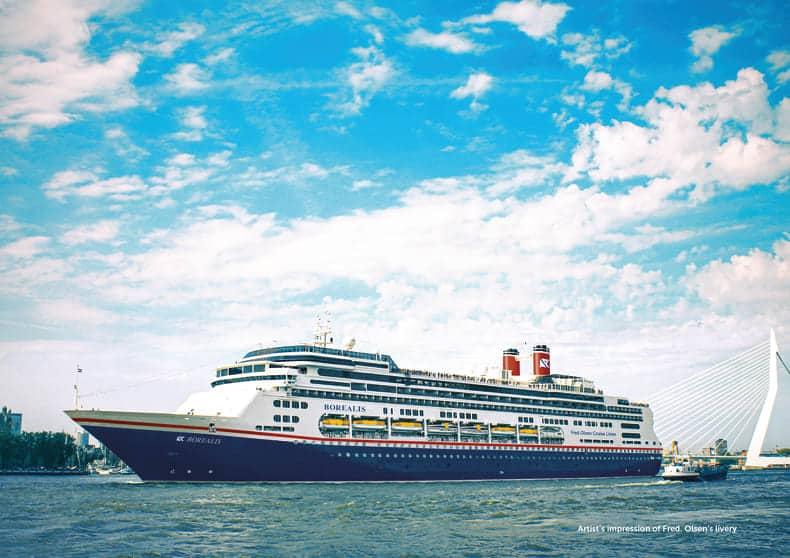Borealis Cruise Ship