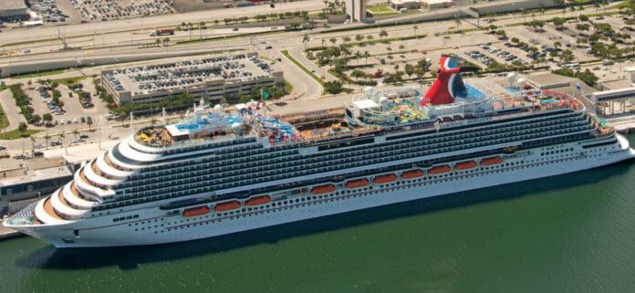 Carnival Horizon in Miami, Florida