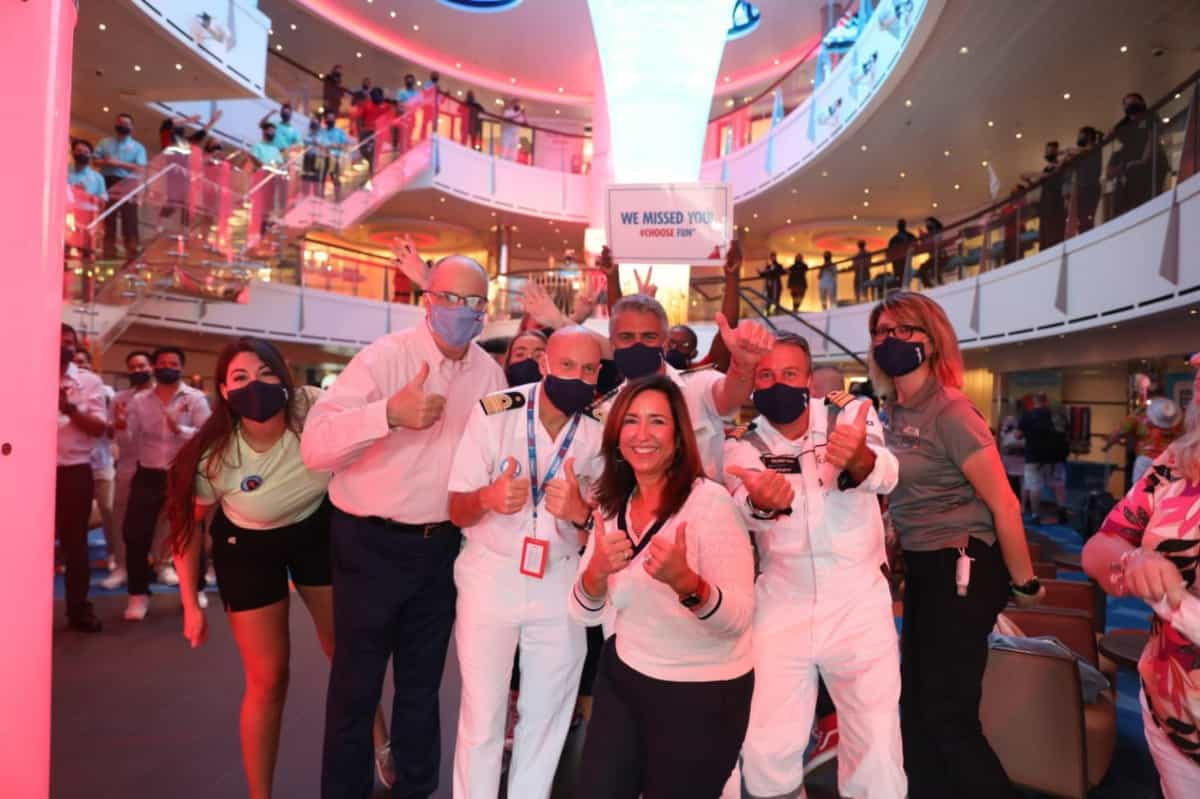 Carnival Vista Resume Cruises