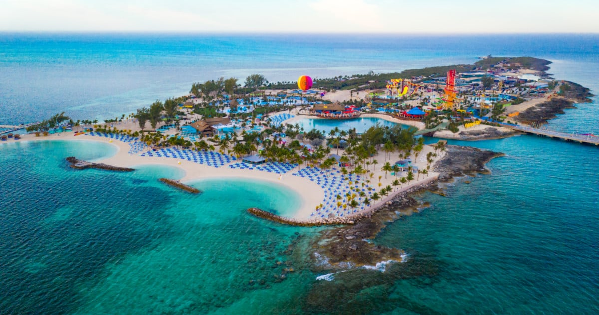A View of Perfect Day at CocoCay Private Island
