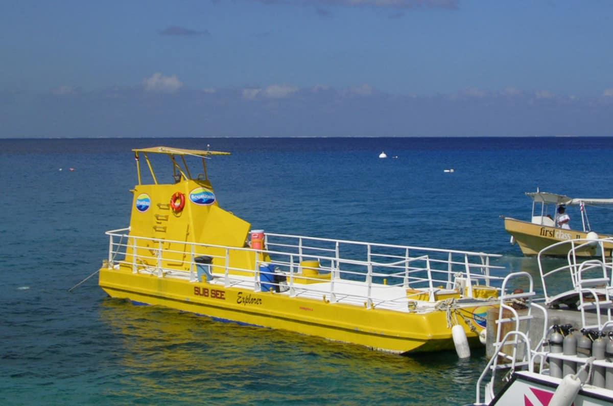 Cozumel Glass Bottom Boat