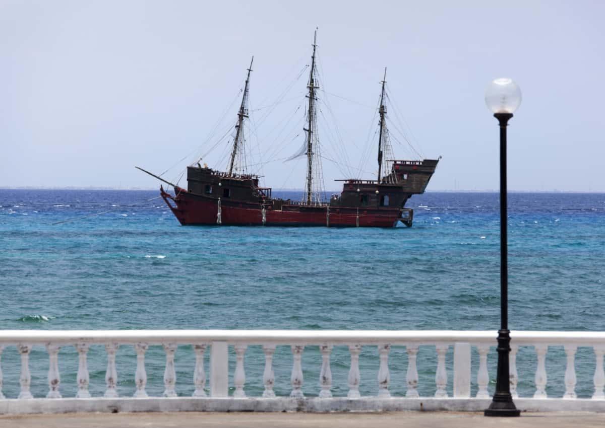 Cozumel Pirate Ship