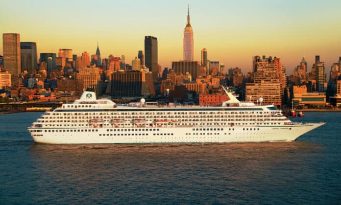 Crystal Symphony in New York