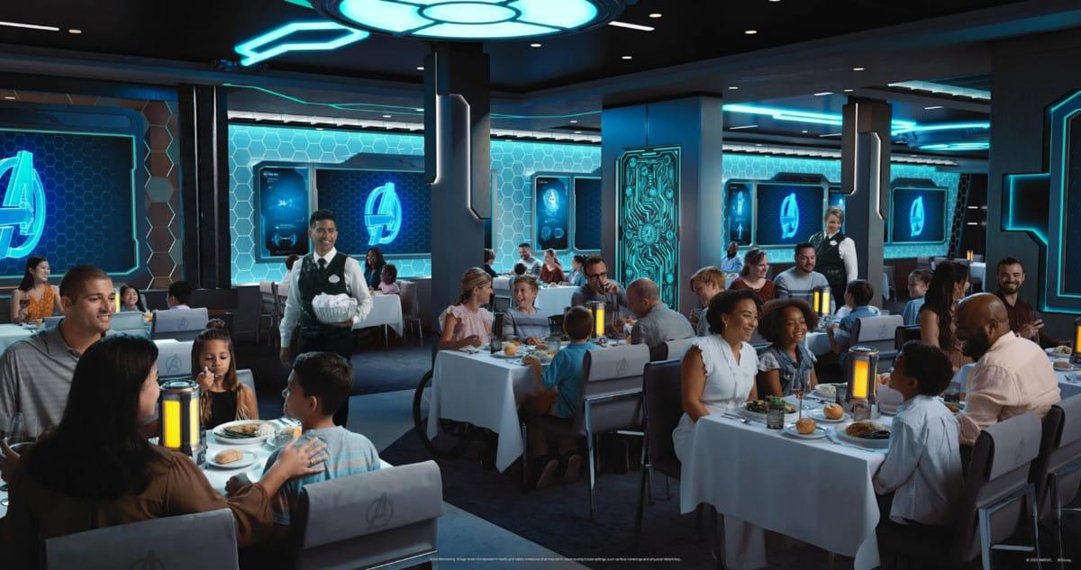 Worlds of Marvel restaurant