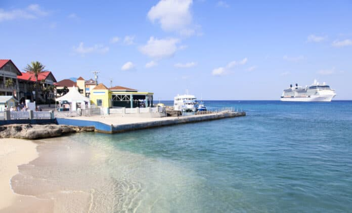 Cruise Ship at Grand Cayman