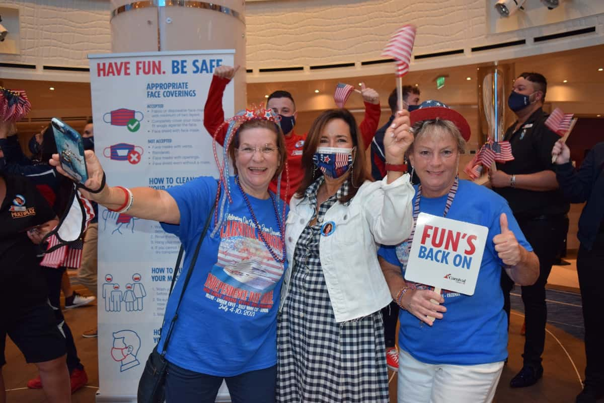 Carnival Horizon Welcomes First Guest