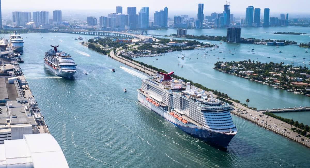Mardi Gras Departing Miami