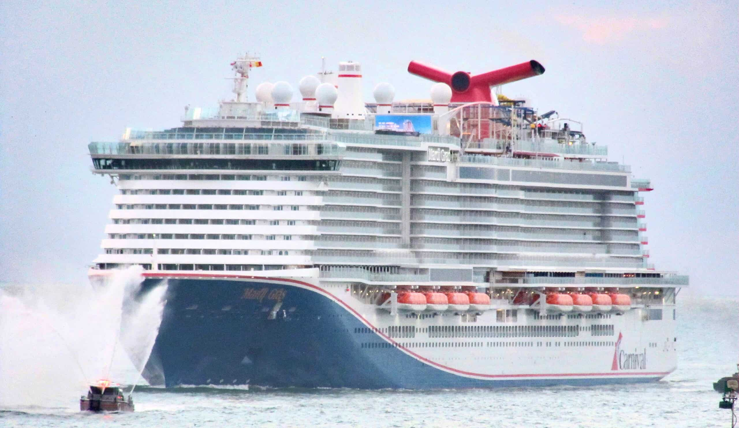 Mardi Gras Cruise Ship