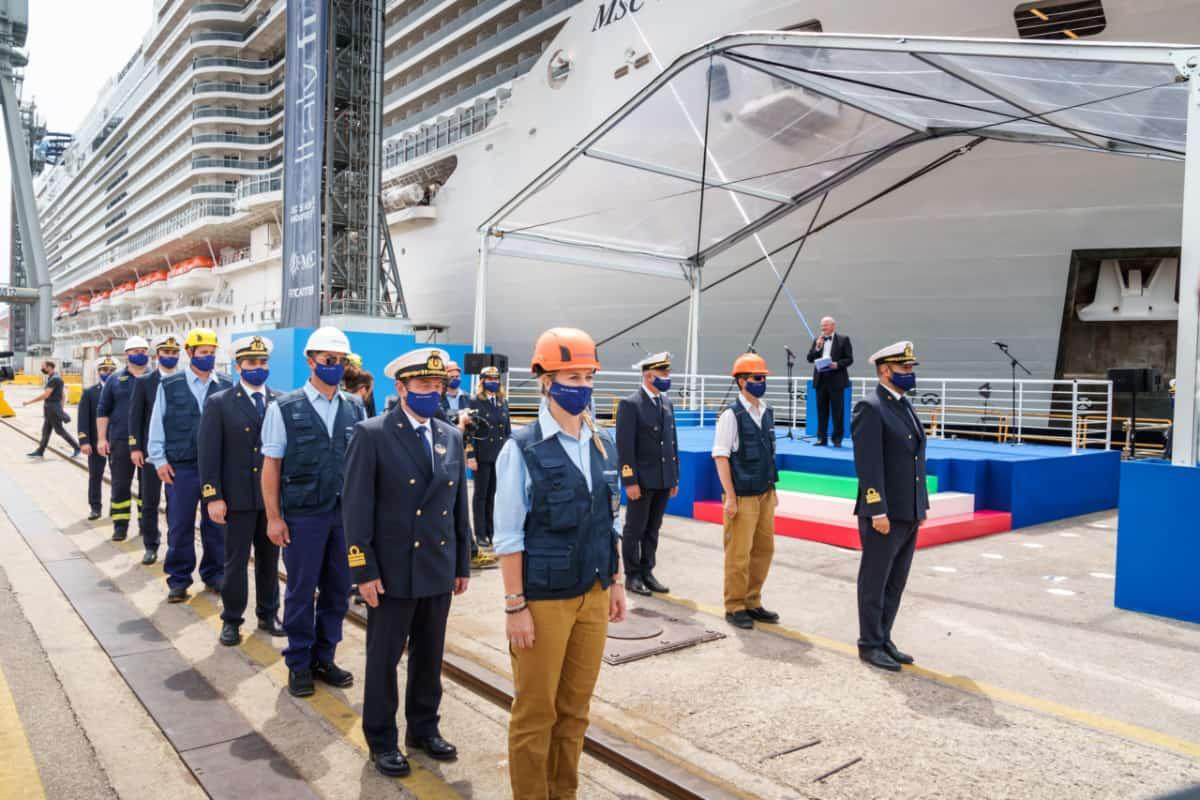 MSC Seashore Delivery Ceremony