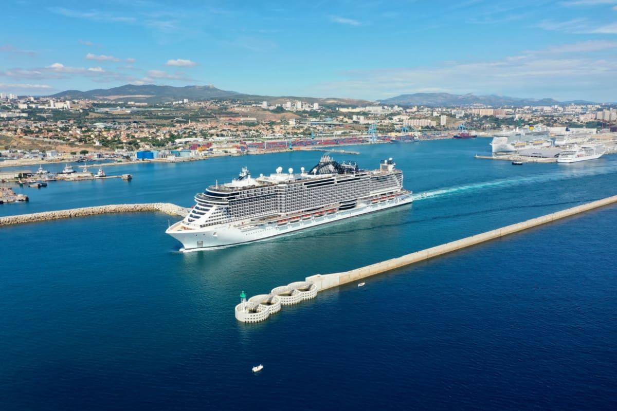 MSC Seaside in Marseille
