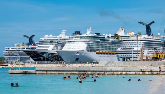 Cruise Ships in Nassau, Bahamas