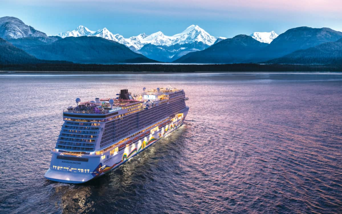 Norwegian Encore to Alaska