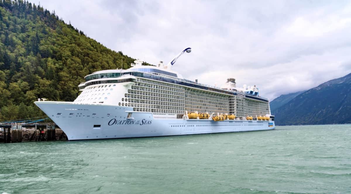 Ovation of the Seas Cruise Ship