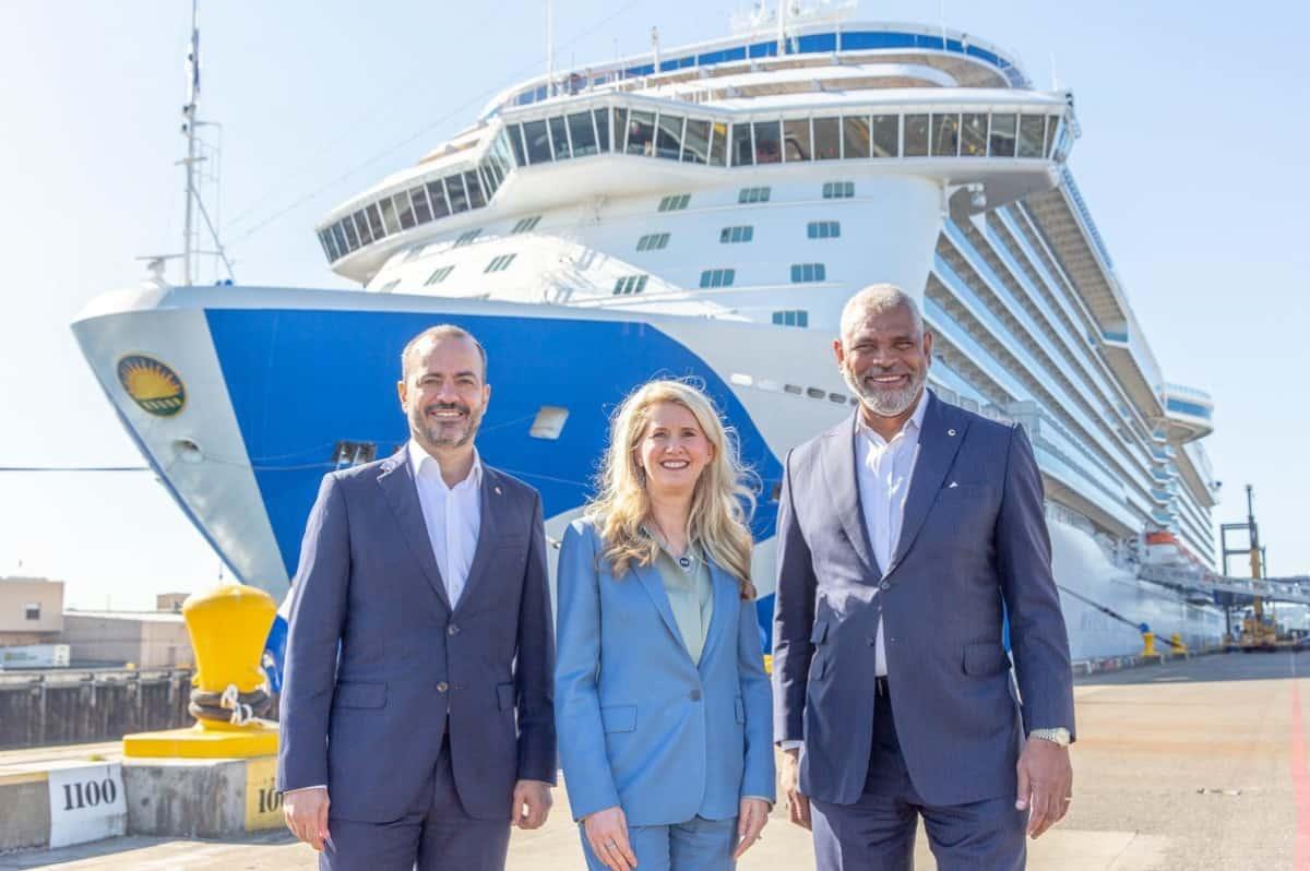 Princess Cruises Alaska Restart Celebration