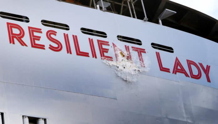 Resilient Lady Cruise Ship