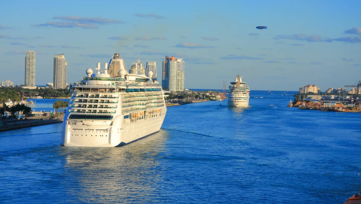 Cruise Ships in Miami, Florida