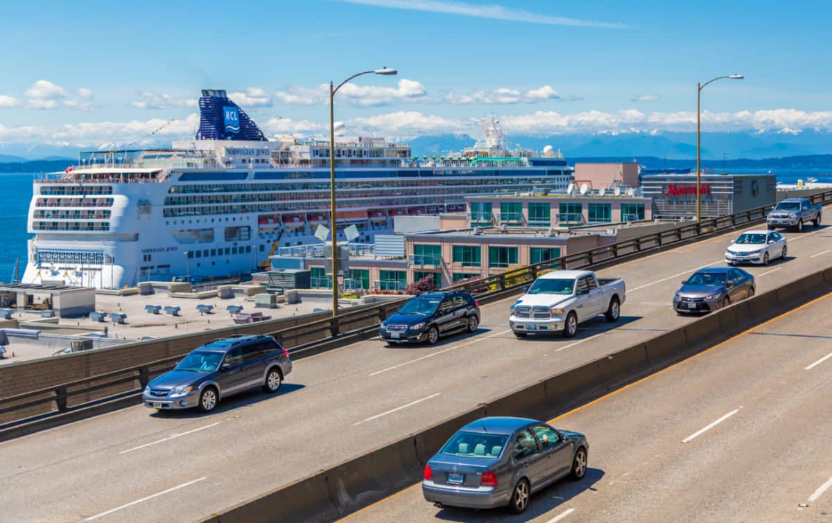 Seattle Cruise Port View
