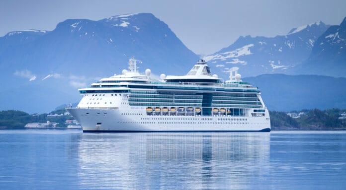 Serenade of the Seas in Alaska