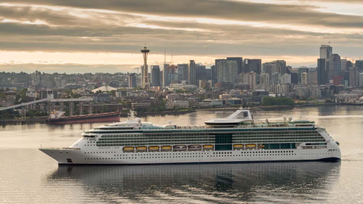 Serenade of the Seas Departing Seattle