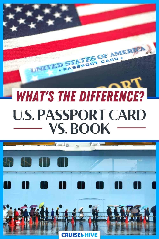U.S. Passport Card vs. Book