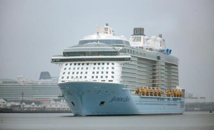 Anthem of the Seas in the UK