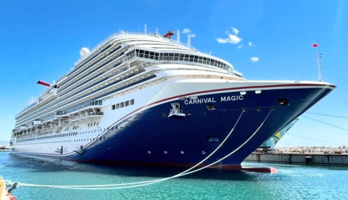 Carnival Magic With New Livery