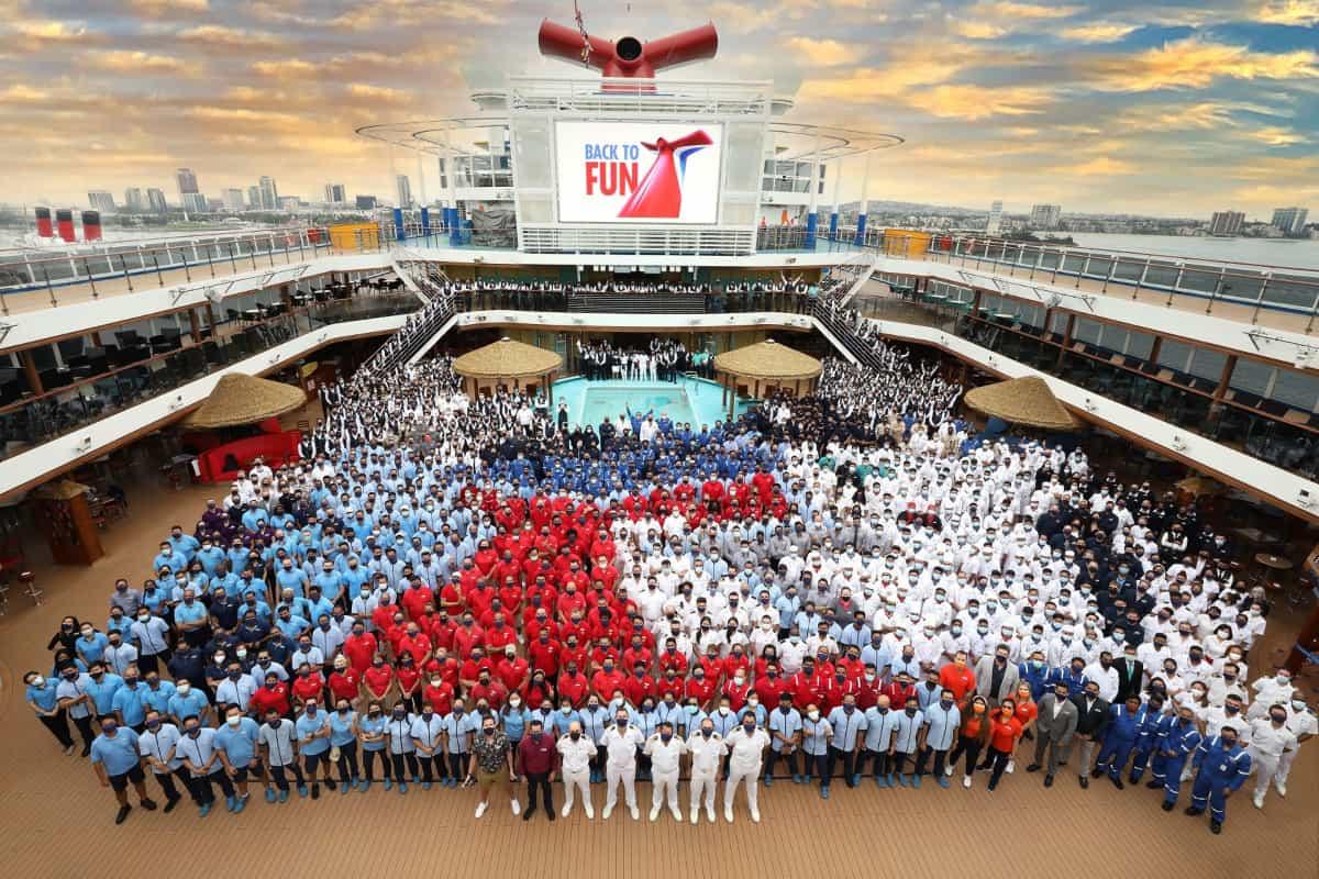 Carnival Panorama Crew Members