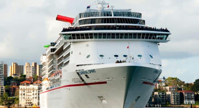 Carnival Spirit Cruise Ship