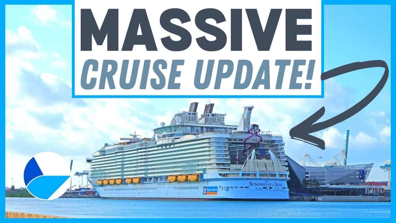 Massive Cruise News