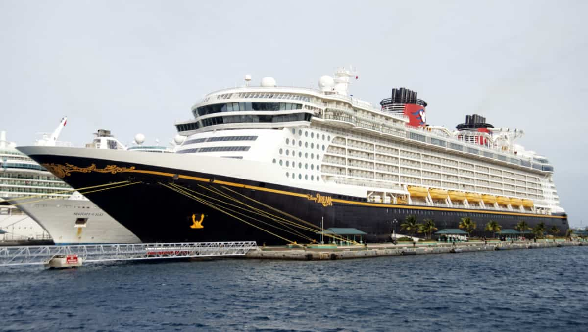 Disney Dream in the Bahamas