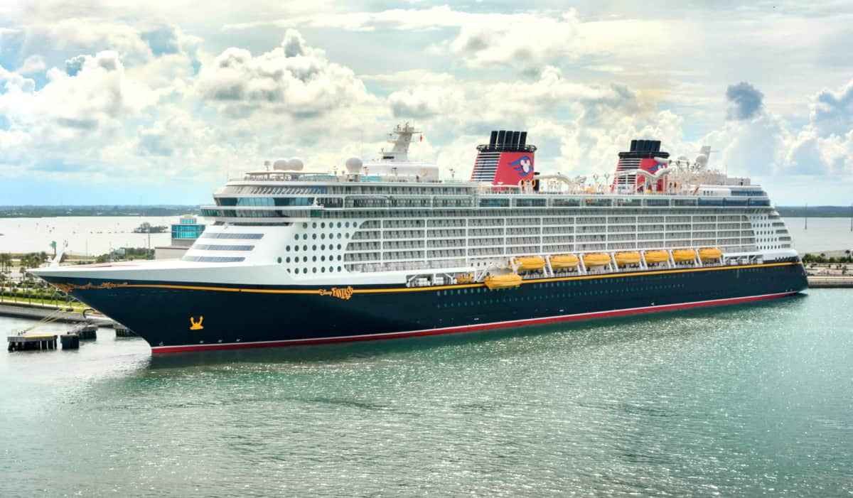 Disney Fantasy in Port Canaveral