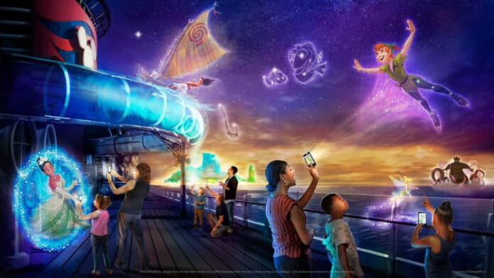 Disney Wish Interactive Experience